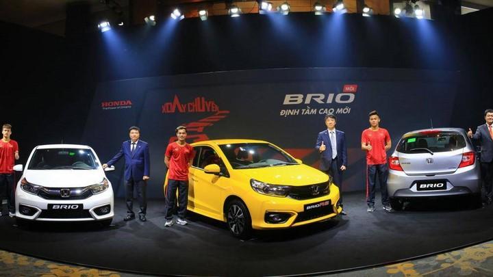 Giá xe Honda Brio 2019 lăn bánh tại các đại lý Honda