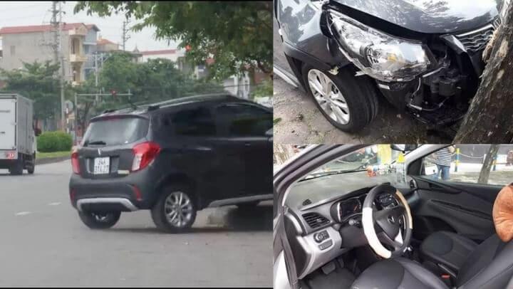 Nhầm chân ga, người phụ nữ đâm Fadil vào gốc cây và lý do túi khí không nổ