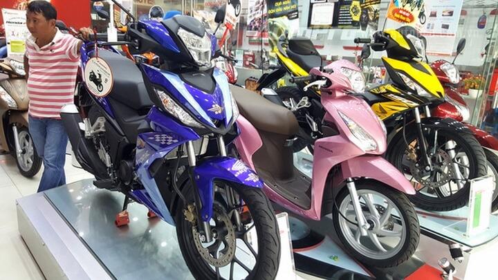 Bảng giá xe máy Honda