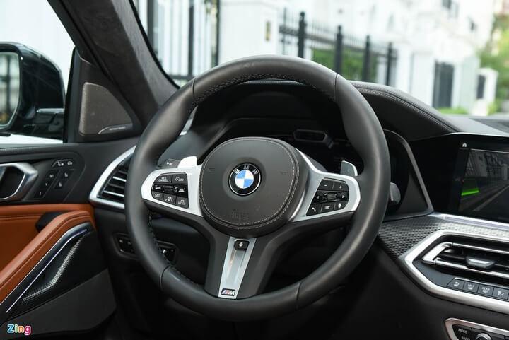 Soi chi tiết BMW X6 M Sport 2021 đầu tiên tại Việt Nam 21