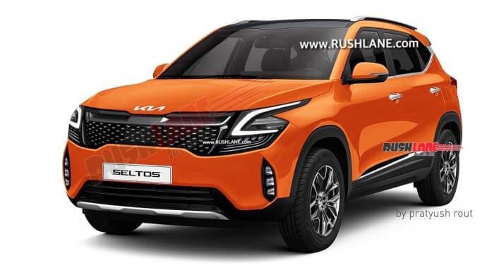 Kia Seltos 2022 sẽ lấy cảm hứng đến từ Kia Sportage? 5