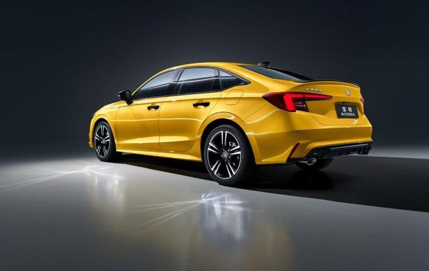 Honda Interga ra mắt ở Trung Quốc với thiết kế giống Civic và hộp số sàn 6 cấp 3