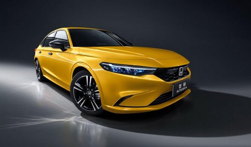 Honda Interga ra mắt ở Trung Quốc với thiết kế giống Civic và hộp số sàn 6 cấp 4